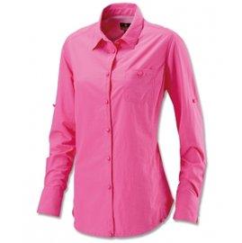 悠活運動家:《台南悠活運動家》Wildland台灣女長袖調節式時尚襯衫0A11203