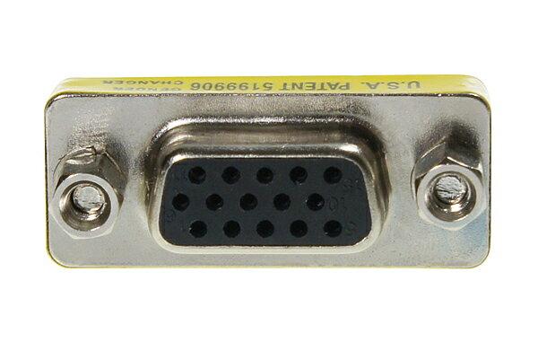 AviewS-VGA/180度轉接頭/母對母頭轉接頭 0