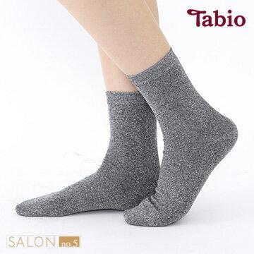 日本靴下屋Tabio百搭金蔥柔軟休閒短襪