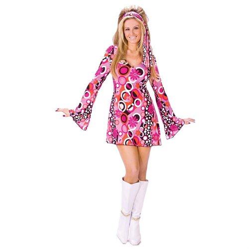 Fun World 32599 Feelin Groovy Adult Halloween Costume Size Small-Medium 0