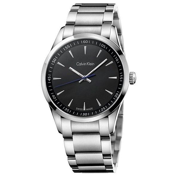 CK BOLD系列(K5A31141)時尚簡約紳士腕錶/黑面41mm