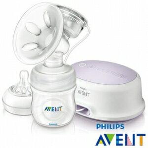 英國【PHILIPS AVENT】輕乳感PP標準型單邊電動吸乳器-附手動配件