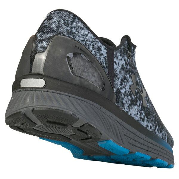 《出清5折》Shoestw【3000359-100】UNDER ARMOUR UA 慢跑鞋 Charged Bandit 3 Digi 點陣 迷彩 灰黑藍 男生尺寸 3