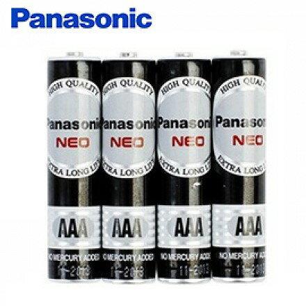 文五雙全x文具五金生活館:國際牌4號電池PANASONIC環保黑色乾電池(AAA)4入組