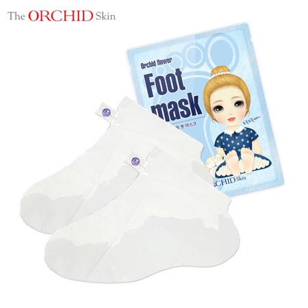 韓國 The ORCHID Skin 幽蘭一品公主護足膜 18ml 護足 足膜 腳膜【B062275】