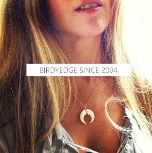 BIRDYEDGE象牙設計簡約項鍊金白牙黑牙透明男女項鍊皆可配戴簡約單品歐美