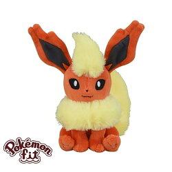 火伊布 火精靈 絨毛玩偶 娃娃 Pokemon Fit 寶可夢 神奇寶貝 日本正品 該該貝比日本精品 ☆