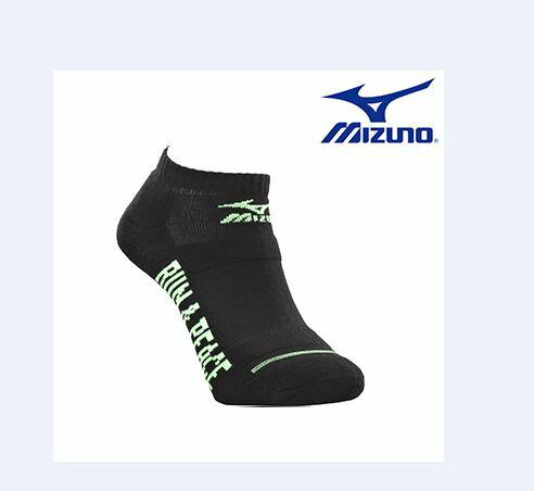 【登瑞體育】MIZUNO 男運動厚底踝襪_32TX601193