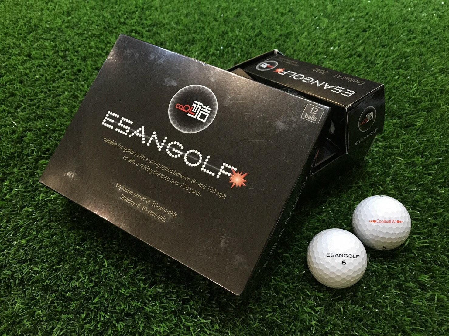 Coolball A1 2040 高爾夫球 ( 一盒裝12入 ) 白色