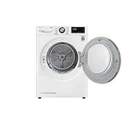 LG 9公斤變頻免曬衣乾衣機9公斤 WR-90VW+ WiFi滾筒洗衣機(蒸洗脫) 冰磁白WD-S18VCW