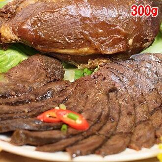 【黃記港式滷味】滷牛腱(300g)〈加贈牛肉原汁*1+特製辣油*1)