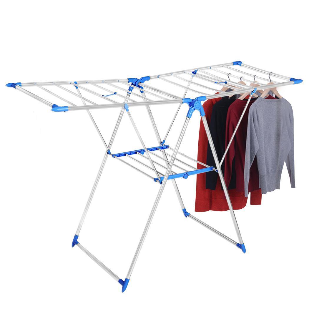 Portable Folding Clothes Rack Laundry Hanger Dryer 3