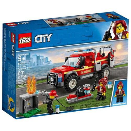 樂高LEGO 60231 City Fire 城市系列 -消防隊長救援卡車 - 限時優惠好康折扣