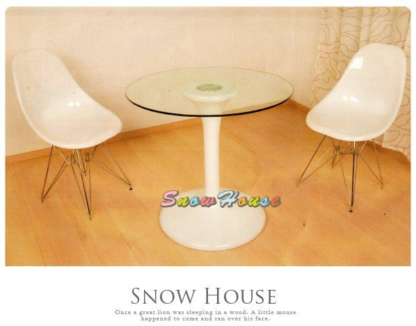 ╭☆雪之屋居家生活館☆╯AA599-07 B08-2洽談桌(強化玻璃)/強化玻璃桌/辦公桌/會議桌/休閒桌