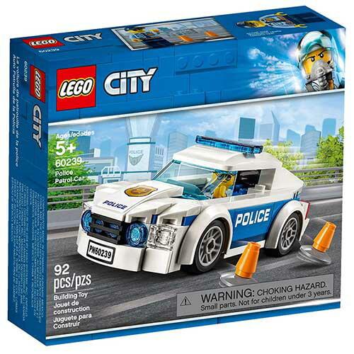 樂高LEGO 60239 City-Police 城市警察系列 - 警察巡邏車 - 限時優惠好康折扣