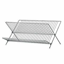 【nicegoods】愛家折疊式碗盤架(金屬 鐵架 置物架 廚房收納)