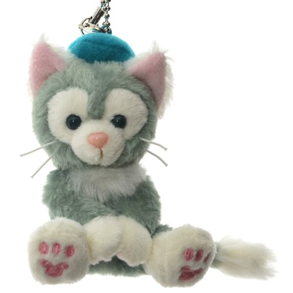 預購 東京迪士尼海洋 Gelatoni 畫筆貓 坐姿吊飾9cm