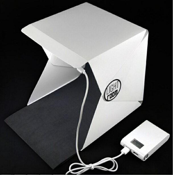代購現貨 Light room便攜式LED燈攝影棚22.6*23*24cm(袋裝) IF0456