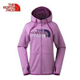 [ THE NORTH FACE ] 女 FlashDr-XD大Logo兜帽外套 紫 / 公司貨 NF0A3GE92RL
