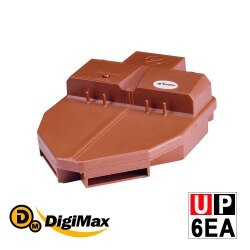 DigiMax【UP-6EA】『滅蟑戰艦』環保電子捕蟑器