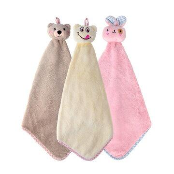 可愛動物擦手巾 0