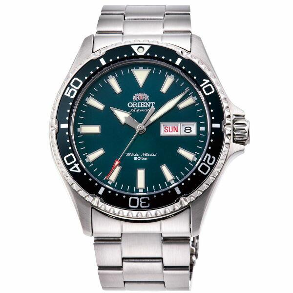 Orient 東方錶 (RA-AA0004E)WATER RESISTANT系列 200m限量鋼帶款潛水錶 / 綠 41.8mm - 限時優惠好康折扣