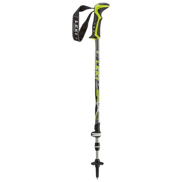 露營趣:【露營趣】中和德國LEKI6322143鋁合金避震登山杖橡膠握把鎢鋼杖尖快速扣調整