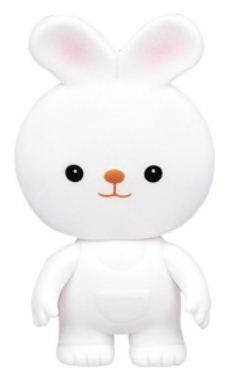 『121婦嬰用品館』樂雅 軟膠玩具 - 兔子 0