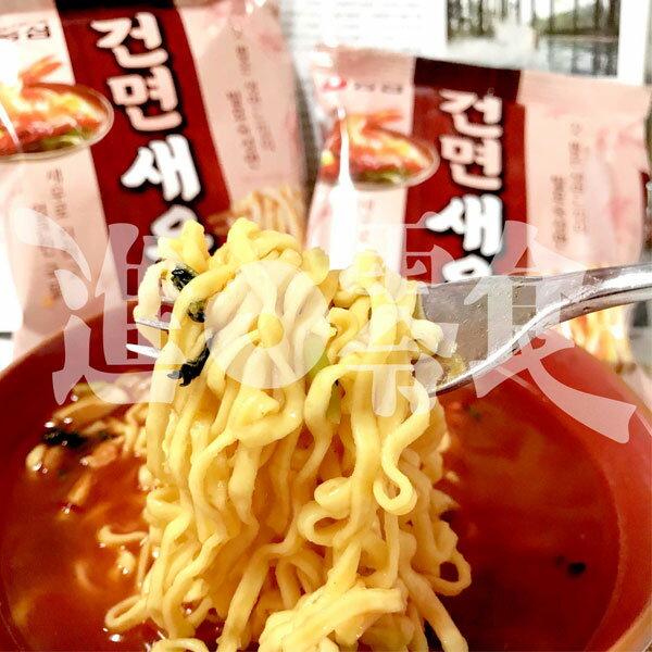 韓國農心蝦子風味辛拉麵單包吃泡麵也要吃的到真海鮮!有真的小蝦子在裡面~【特價】§異國精品§