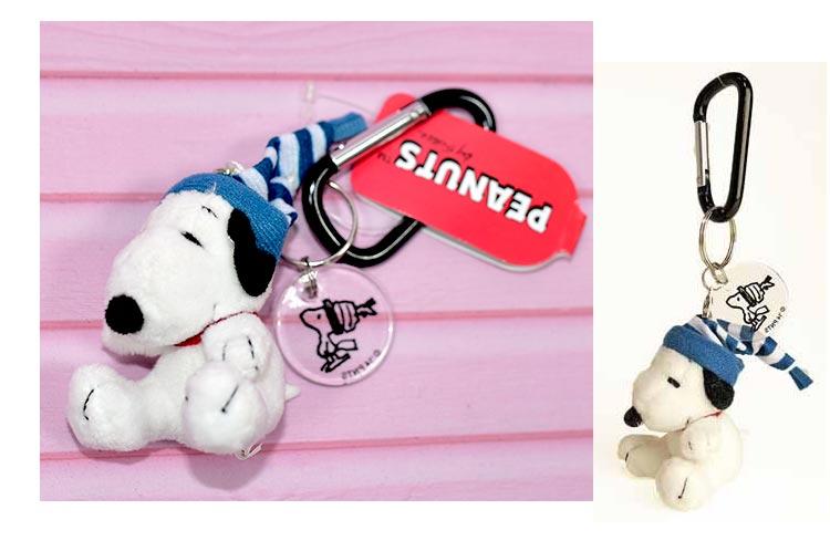 SNOOPY 史努比 戴帽子 吊飾 鑰匙扣 日本限定正版商品