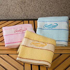 【Crocodile-BSC026A】星光大道素色小浴巾 1入