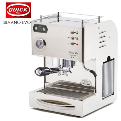 【QUICK MILL】SILVANO EVO喜華諾 義大利半自動雙鍋爐咖啡機★1月限定全店699免運