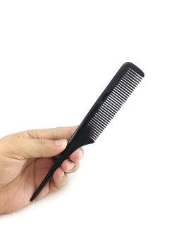 黑尖尾牛角梳 / 造型工具.角梳 / 美发器材