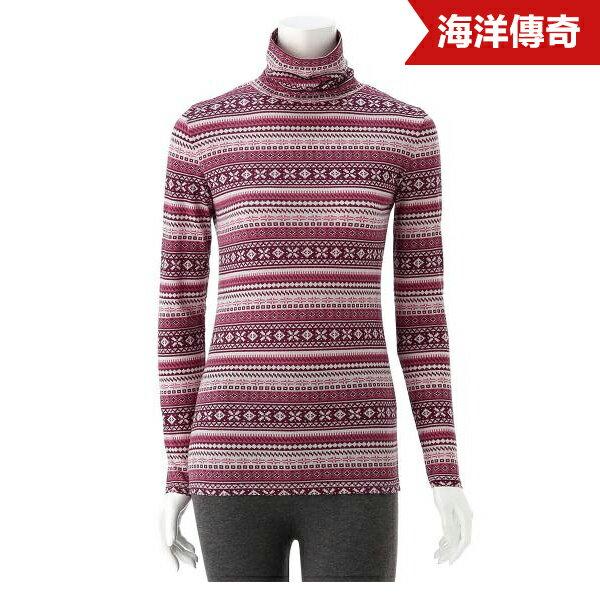【海洋傳奇】【期間限定】日本進口 歐洲風 混合棉高領長袖 內衣 M 紅色【訂單滿3000元免運】 - 限時優惠好康折扣