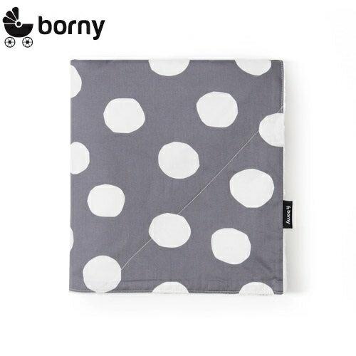 韓國【Borny】四季安撫毯(嬰兒毯)(灰麥町)