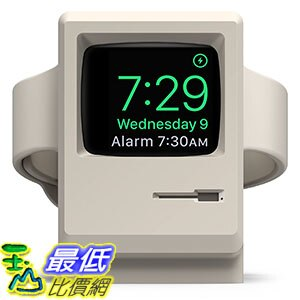[106美國直購] elago EST-WT3-WH 白 充?座 W3 Stand for Apple Watch Series 1 and 2_O51