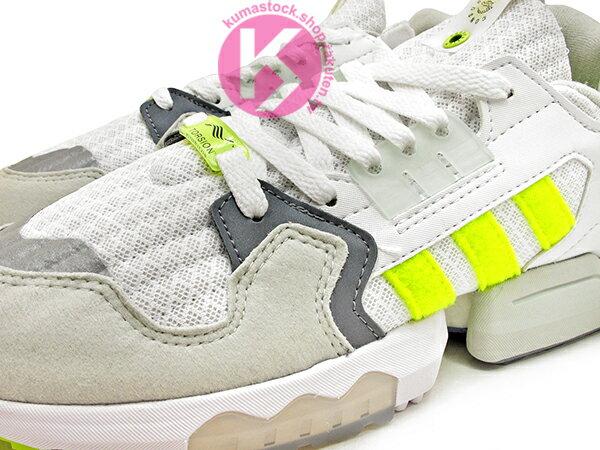 [20% OFF] 2019 限量發售 英國知名鞋舖 FOOTPATROL x adidas Consortium ZX TORSION FP 灰白螢光黃 內藏 BOOST 緩震科技 (EF7681) ! 2