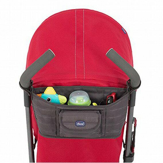chicco推車把手置物袋深灰單入『121婦嬰用品館』