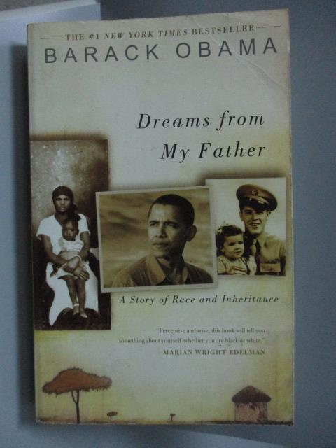 ~書寶 書T7/原文書_NAI~Dreams From My Father_Obama