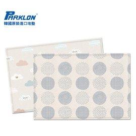 【淘氣寶寶】韓國 Parklon帕龍-PVC雙面包邊地墊(遊戲墊) 雲朵款 190*130*1.2
