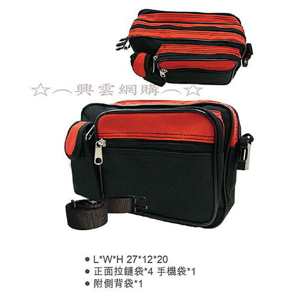 ~︵興雲網購︵~~3440~贈品 多 腰包^(盒裝^) 背包 旅行包 登山包 大包包 收納