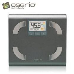 【oserio歐瑟若】內臟脂肪機 多功能體脂計 FFP-330B (鑽石銀)