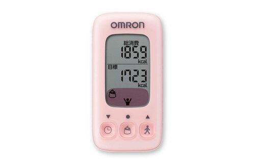 OMRON歐姆龍活動量計HJA-310(粉色)