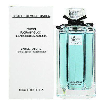 香水1986☆Gucci 花園香氛 Flora 璀璨白玉蘭 女性淡香水 100ML TESTER 白盒有蓋
