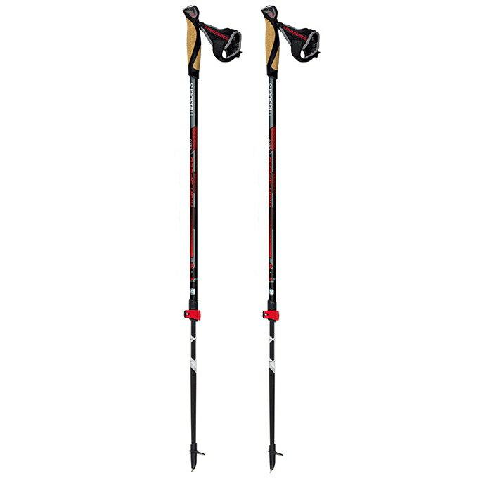 【露營趣】義大利 MASTERS MA01N0416 High Speed卡魯二節式健行杖 登山杖(2980/對)