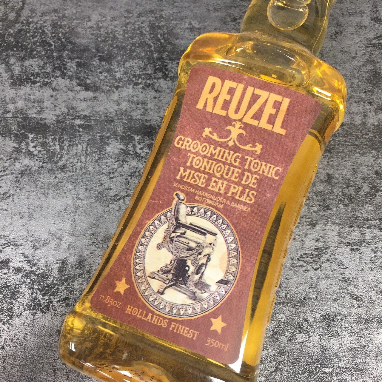 REUZEL 吹整熱塑用打底輕度造型髮露 順髮水 350ml◐香水綁馬尾◐