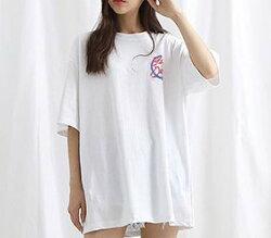 FINDSENSE H1夏季 新款 歐美 街頭 中性  字母圖案印花  時尚 情侶 純棉短袖 T恤 潮男女 上衣