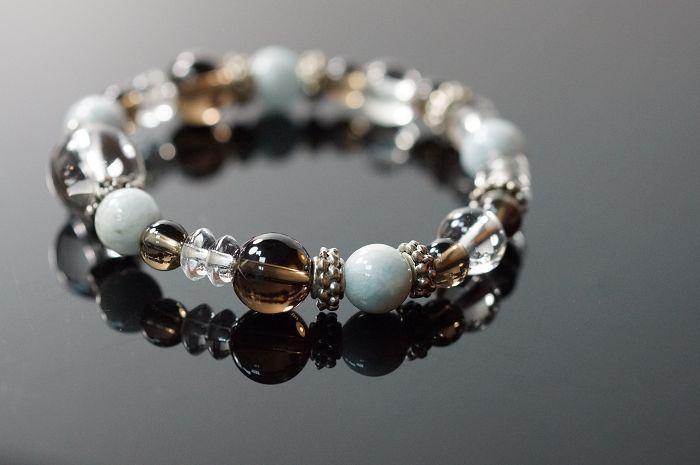 色彩的變化 ^# 璀璨的寶石 ^# 白水晶 ^# 海藍寶 ^# 茶水晶 ^# 合金 ,喨喨