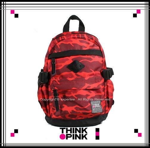 【騷包館】THINK PINK 潮流專櫃品牌 幻彩系列 MINI童後背包 紅色幻彩 TP-115-7606-108