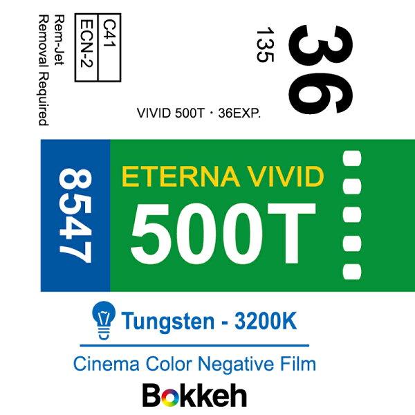 [享樂攝影](停產最後一批)富士Fuji8547電影負片500TEternaVivid彩色負片分裝片底片